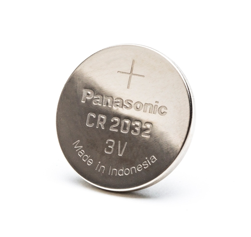 Panasonic CR2032 batteri<br>6 stk.